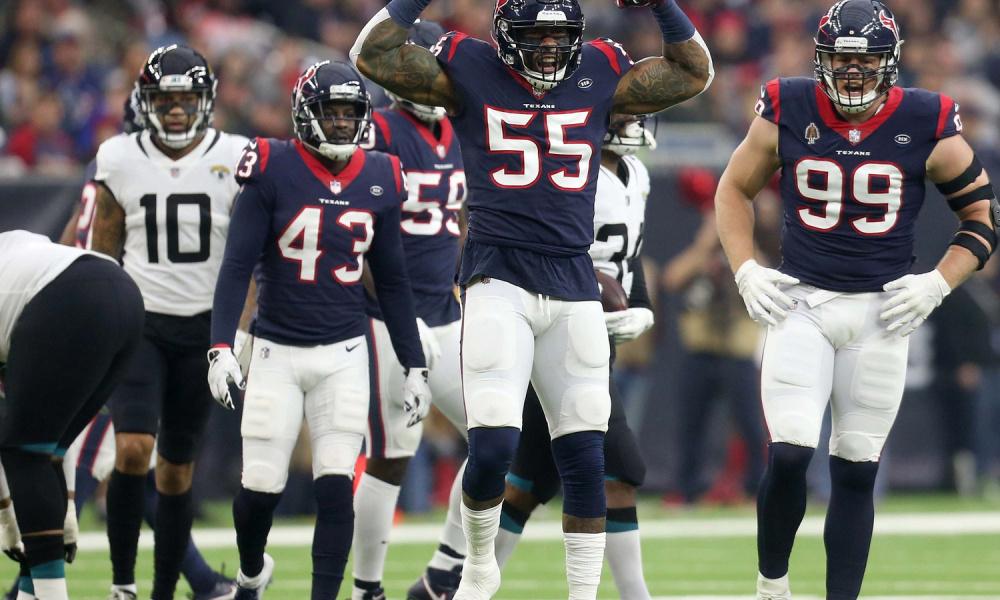 387a770d Jacksonville Jaguars 3-20 Houston Texans: Texans clinch the AFC ...