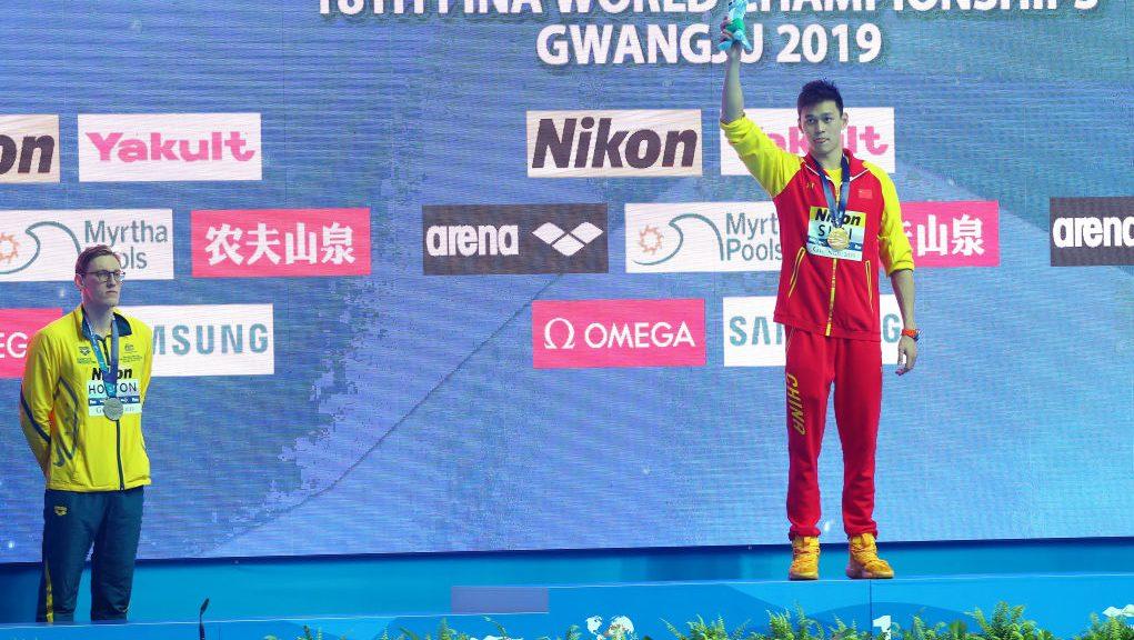Sun Yang wins