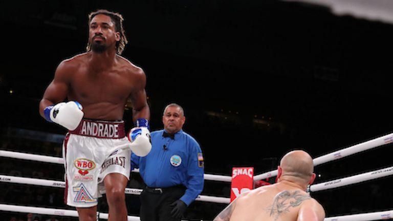 Andrade beats Sulecki