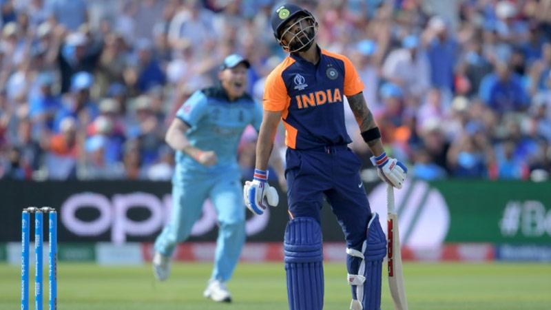 Virat Kohli Lost their Wicket