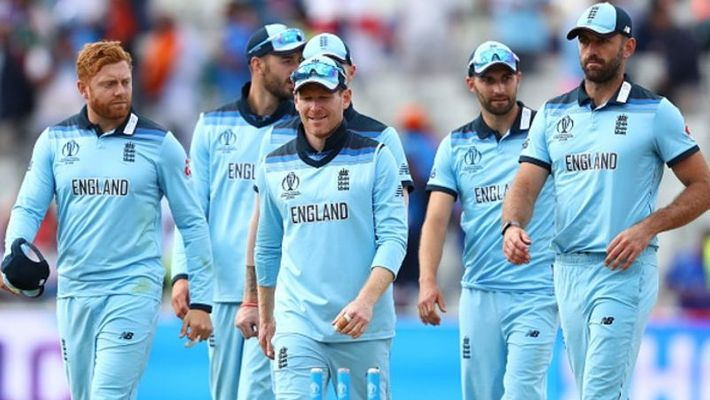 English Team Looking Very Happy