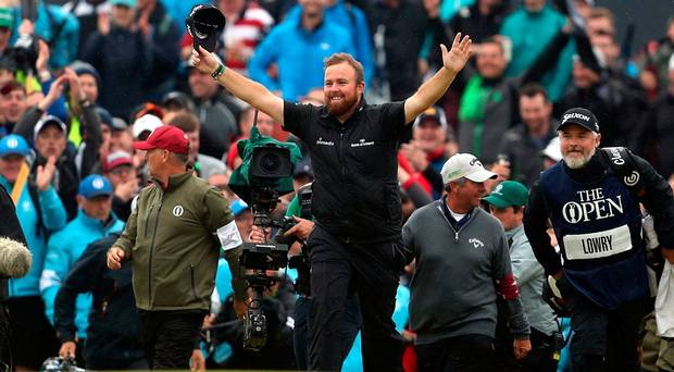 Lowry has become the first Irishman since Fred Daly (1947)
