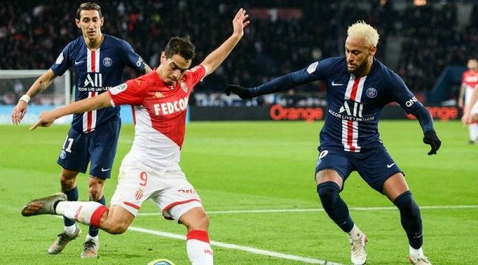Neymar scores 2 two goals but PSG VS Monaco French League ...